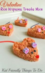 Though you might not want to eat those ears. Those candy hearts are made from sugary chalk.