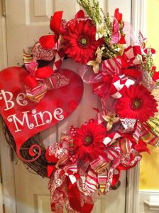 Well, it certainly shows it loud and clear in a heart. Love the red flowers.