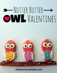 Yes, I know owls don't have much to do with V-Day. But these owls are so irresistible.
