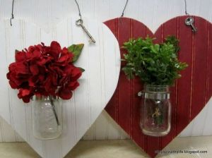 The plants in the jars may not be real. But you have to love how they come with keys to signify a lovely gesture.