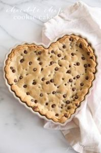 And what's better than a chocolate chip heart cookie? Not much as far as I know.