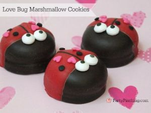 Yes, they resemble ladybugs and have hearts on their backs. Adorable.