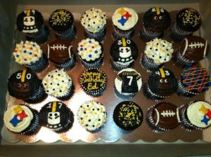And yes, they feature the glories of Steeler nation. Great for black and gold fans.