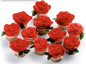 Well, to a point, anyway. But I love how these were made. Makes me wonder how these icing roses were possible.