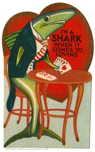 However, this green suited guy is a card shark. So I don't think he's the best kind of boyfriend. Because he might have a gambling problem. Or eat you alive.