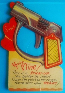 Because nothing says Valentine's Day like the threat of lethal violence. How romantic!