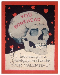 I'm sure this would be perfect if your sweetheart's a goth. Still, such sentiments from someone might mean they really need a therapist.