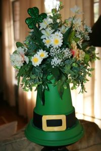 Okay, this one is rather tall. And the flowers are most definitely fake. But at any rate, makes a great centerpiece.