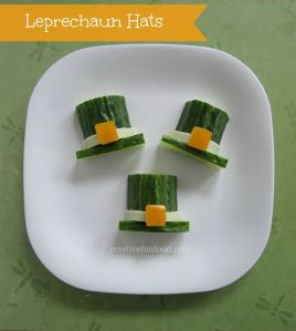 Well, they're made from cucumbers and cheese. But they won't take much effort.