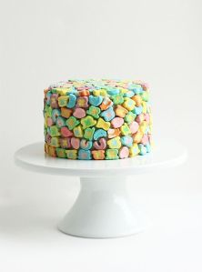 Seems like you can use the cereal marshmallows a lot. Though not sure about what I think of this cake.