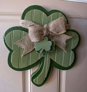 Though you might want to be sure to paint it green. And to put a ribbon with small shamrocks on it for extra luck.