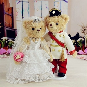Sure it may not be Will and Kate's wedding. But these royal newlyweds look adorable nonetheless.