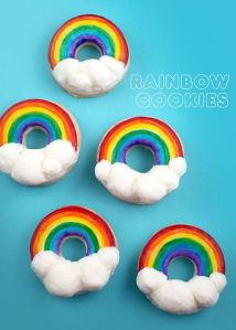 You might think they're donuts. But they're not and are certainly covered in icing.