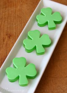 Each one has multiple layers of green as you see. But the 4 leaf clover ones are better or so I heard.