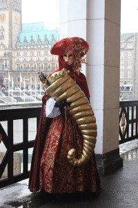 Though the costumes at the Carnival of Venice are comparable Capitol fashions. I mean both can become quite outlandish at times.