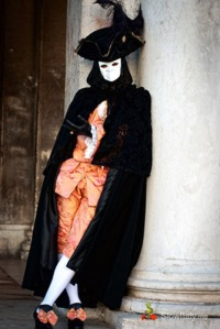 However, you might want to reconsider if you don't want to stand out. Though it does give a creepy vibe with the mask.