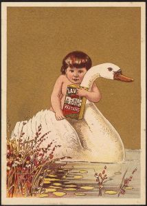 But please treat yourself to this naked kid about to strangle a swan with bare hands. Hey, that's what it looks like to me.