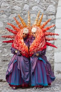 Yes, they do group costumes, too as you see here. I know it's crazy but they do make a pretty picture.