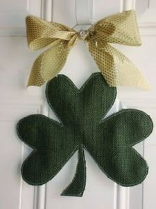 Sure it depicts a 3 leaf clover with 3 leaves of hearts. But it brings a rather quaint touch.