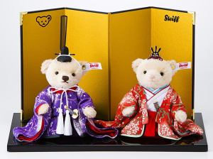 So immortalizing them as teddy bears goes without saying. Because the Japanese always have a fondness for cuteness.
