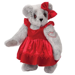 Goes with the zombie bear I had in the post from 2 years ago. Like her dress, by the way.
