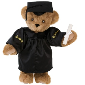 Well, it's not uncommon to buy teddy bears for graduation either. Also available in white.