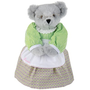 Sure most grannies don't wear dresses like that. But this is simply adorable.