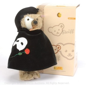 Of course, any teenage girl or young woman might find this Phantom of the Opera bear quite irresistible. Though he's certainly not a nice guy.