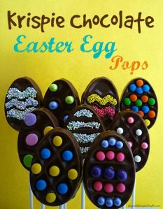And I'm sure you can decorate them any way you please. After all, they're Easter eggs.