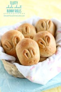 Unlike the other bunny rolls I showed 2 years ago, these have more apparent ears. But they're nevertheless cute.