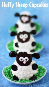 I'm sure some may find these too adorable to eat. Because who doesn't love sheep like these?