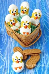 Well, these are cute. Love their eyes and beaks. Sure they may not look like chicks but these are clever.