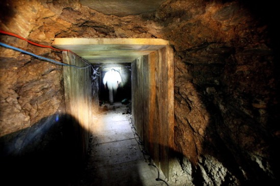 Large Elaborate Drug Tunnel Found Along U.S. Mexico Border
