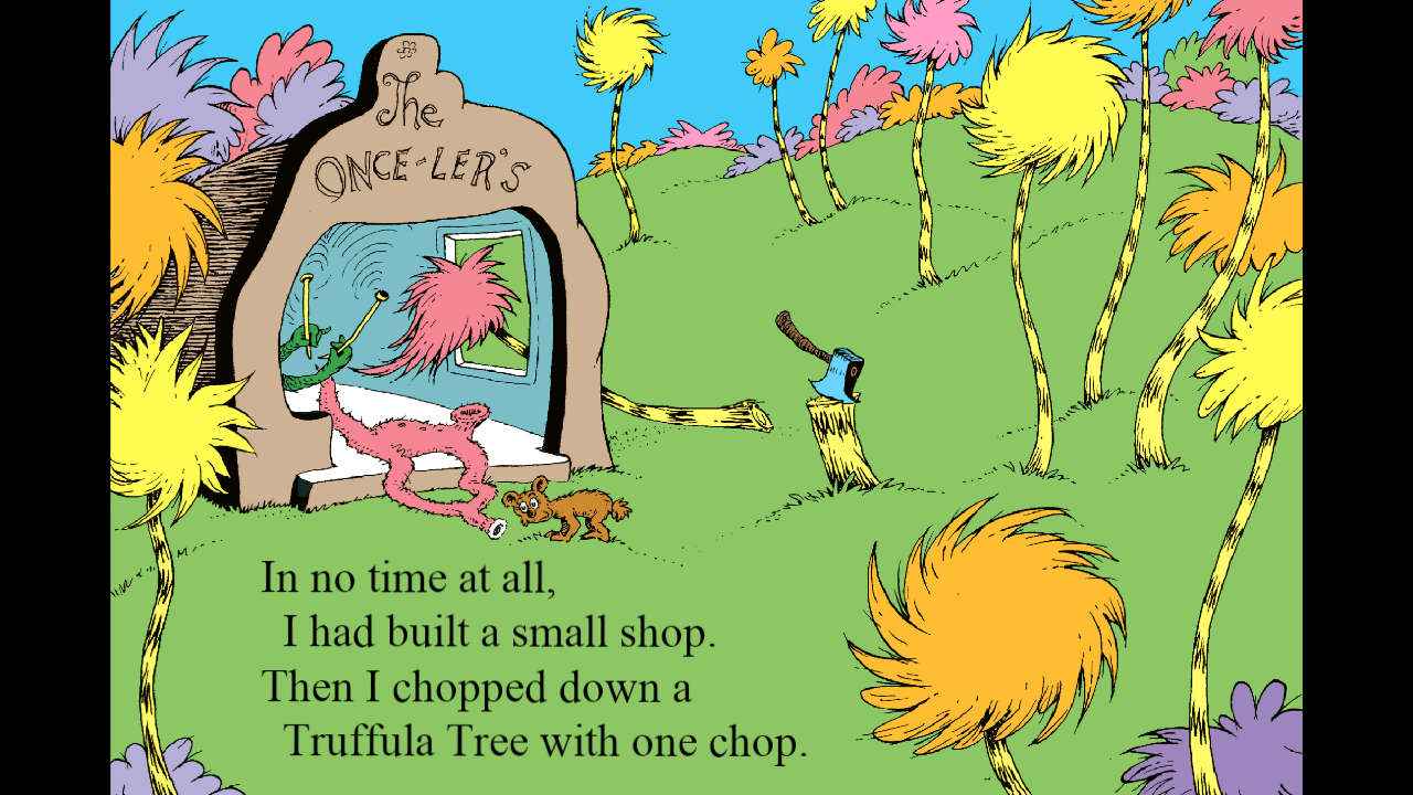 The Lorax Amazing Truffula Tree Coloring Pages : Coloring Sun | 720x1280