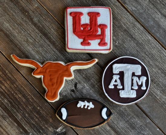 College-Football-Shortbread-Cookies