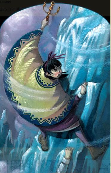 Violet on Mount Fraught