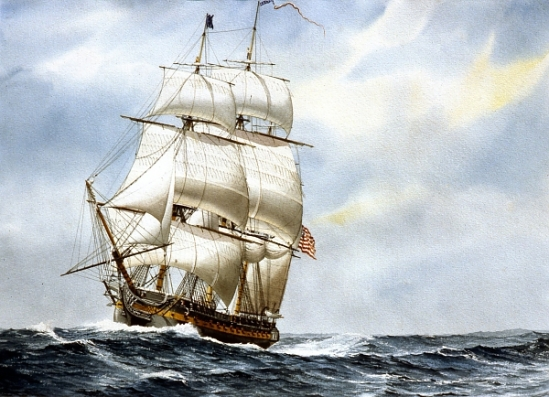 The Anatomy Of A Wooden Ship Part 1 The Sails The Lone Girl In A