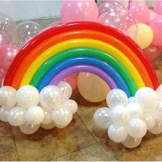 2-partia-T-cza-Zestaw-Balon-Urodziny-Wesele-Wystr-j-20-D-ugi-Balon-16-Okr