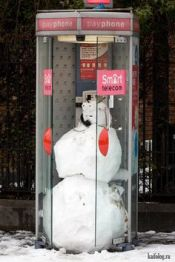 0c29ae3ed20bff68de4a77e17803c73d--snowman-jokes-telephone-booth