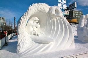 Hokkaido-Snow-Sculpture-2