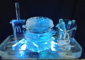 Ice-Sculpture-McDonalds-Food-Tray