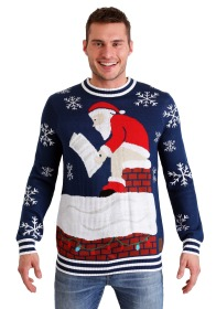 tipsy-elves-mens-roof-santa-ugly-christmas-sweater