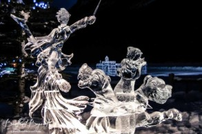 warrior-sculpture-and-three-headed-dragon-lake-lousie-ice-festival-600x400