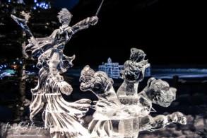 warrior-sculpture-and-three-headed-dragon-lake-lousie-ice-festival-600x400