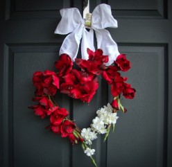 stunning-home-accessories-valentine-decorating-ideas-introduces-gorgeous-hearth-floral-valentine-wreath-with-delightful-red-fl