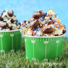 super-bowl-snacks-football-popcorn-chocolate-almonds