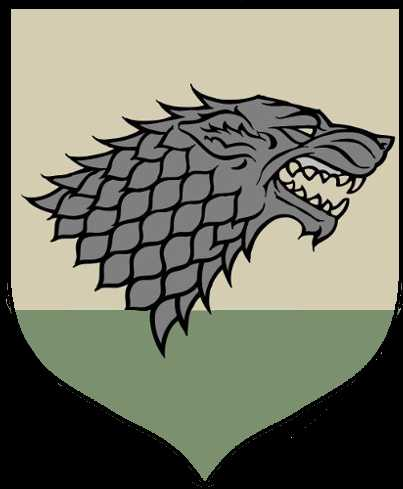 house baratheon banner Awesome haus stark game of thrones wiki fandom powered by wikia