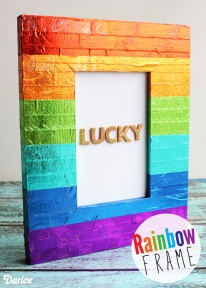 St-Patricks-Day-craft-rainbow-picture-frame-Darice