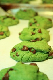 st. patricks day chocolate chip cookiesst. patricks day green desserts st patricks day food ideas st-f89342