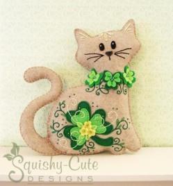 St.-Patricks-Day-Decorations-Felt-St.-Patricks-Day-Cat-Plushie